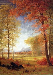 Bierstadt | Autumn in America, Oneida County, New York, undated | Giclée Canvas Print