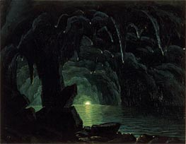 Bierstadt | The Blue Grotto, Capri, undated | Giclée Canvas Print