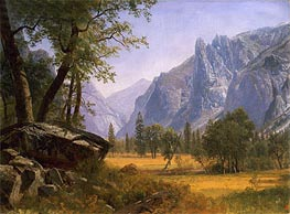 Bierstadt | Yosemite Valley, undated | Giclée Canvas Print