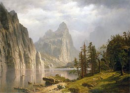 Bierstadt | Merced River, Yosemite Valley, 1866 | Giclée Canvas Print