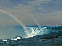 Bierstadt | Home of the Rainbow, Horseshoe Falls, Niagara, undated | Giclée Canvas Print
