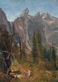 Bierstadt | Lost Arrow, Yosemite Valley, undated | Giclée Canvas Print