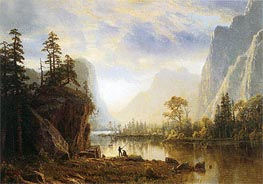 Bierstadt | Yosemite Valley, 1863 | Giclée Canvas Print