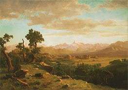 Bierstadt | Wind River Country, 1860 | Giclée Canvas Print