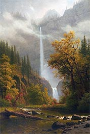 Multnomah Falls, undated by Bierstadt | Giclée Canvas Print