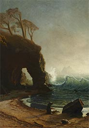 Point Lobos, California, undated by Bierstadt | Giclée Canvas Print