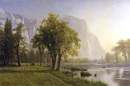 Bierstadt | El Capitan, Yosemite Valley, California | Giclée Canvas Print