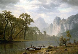Bierstadt | In the Yosemite Valley | Giclée Canvas Print