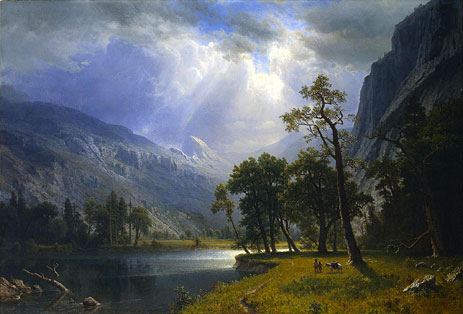 Bierstadt | Yosemite Valley, 1866 | Giclée Canvas Print