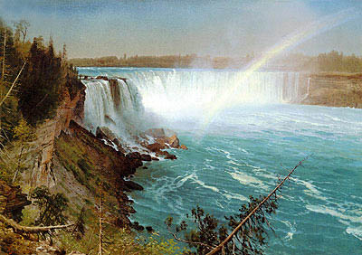 Niagara, c.1869 | Bierstadt | Painting Reproduction