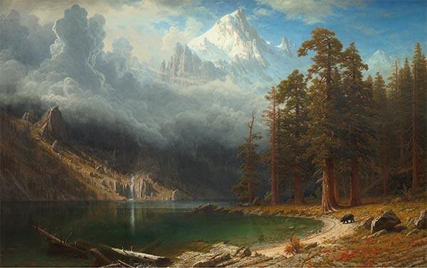 Mount Corcoran, c.1876/77 | Bierstadt | Painting Reproduction