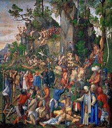 Durer | Martyrdom of the Ten Thousand Christians | Giclée Canvas Print