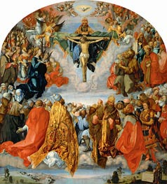 All Saints Day (The Landauer Altarpiece), 1511 by Durer | Giclée Canvas Print