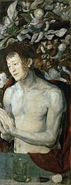 Durer | Saint Sebastian (Dresden Altarpiece - Right Panel), 1496 | Giclée Canvas Print