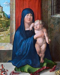 Durer | Madonna and Child (Haller Madonna), c.1496/99 | Giclée Canvas Print
