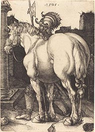 Large Horse, 1505 by Durer | Giclée Paper Print