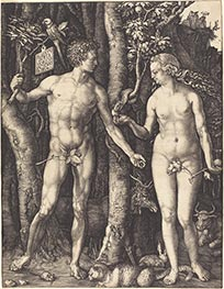 Adam and Eve, 1504 by Durer | Giclée Paper Print