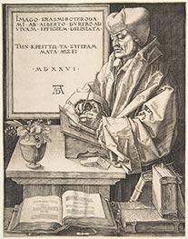 Erasmus of Rotterdam, 1526 by Durer | Giclée Paper Print