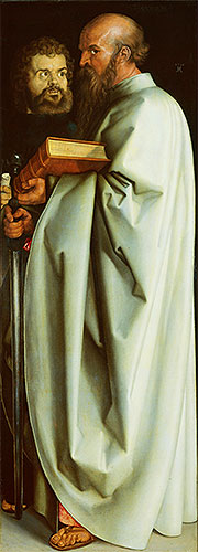Saints Mark and Paul, 1526 | Durer | Painting Reproduction