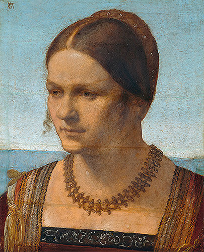Portrait of a Young Venetian Lady, 1506 | Durer | Painting Reproduction