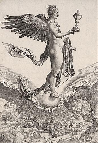 Nemesis, c.1501 | Durer | Painting Reproduction