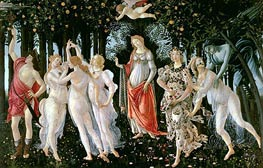 Botticelli | Primavera, c.1482 by | Giclée Canvas Print