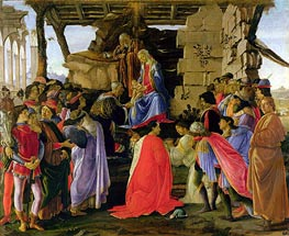 Botticelli | The Adoration of the Magi | Giclée Canvas Print
