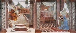 Botticelli | Annunciation, Undated | Giclée Canvas Print