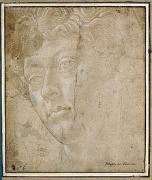 Botticelli | Head of an Angel, Undated | Giclée Paper Print