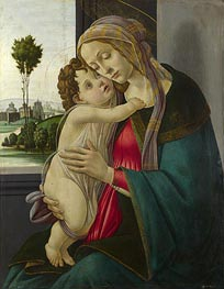 Botticelli | The Virgin and Child, c.1475/00 | Giclée Canvas Print