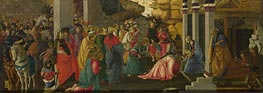 Botticelli | Adoration of the Kings, c.1470 | Giclée Canvas Print