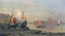 Alessandro la Volpe | Fishing Boats on the Italian Coast, undated | Giclée Canvas Print