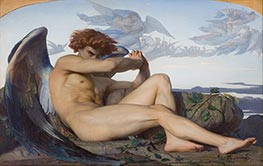 Fallen Angel, 1847 by Alexandre Cabanel | Giclée Canvas Print