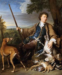 Self-Portrait as a Hunter, 1699 by Alexandre-François Desportes | Giclée Canvas Print