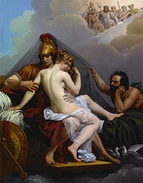 Alexandre Guillemot | Mars and Venus Surprised by Vulcan, 1827 | Giclée Canvas Print