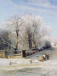 Alexey Savrasov | Winter Landscape, 1873 | Giclée Canvas Print