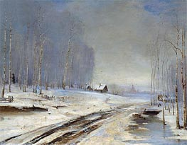 Alexey Savrasov | Sea of Mud (Rasputitsa), 1894 | Giclée Canvas Print