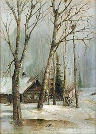 Alexey Savrasov | Cottage in the Woods, Undated | Giclée Canvas Print