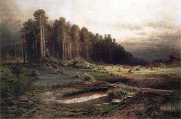 Alexey Savrasov | Losiny Island in Sokolnik, 1869 | Giclée Canvas Print