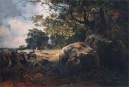 Alexey Savrasov | View of Vicinities of Oranienbaum, 1854 | Giclée Canvas Print