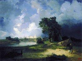 Alexey Savrasov | View of the Kremlin in Bad Weather, 1851 | Giclée Canvas Print