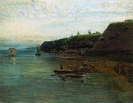 Alexey Savrasov | Volga near Goroditsa, 1870 | Giclée Canvas Print