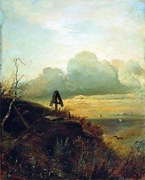 Alexey Savrasov | Tomb on Volga. Vicinities of Yaroslavl, 1874 | Giclée Canvas Print