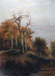 Alexey Savrasov | Autumn Wood. Kuntsevo. A Cursed Place, 1872 | Giclée Canvas Print