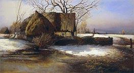 Alexey Savrasov | Soon Spring, 1874 | Giclée Canvas Print