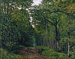 Alfred Sisley   Avenue of Chestnut Trees near La Celle-Saint-Cloud, 1867 by   Giclée Canvas Print