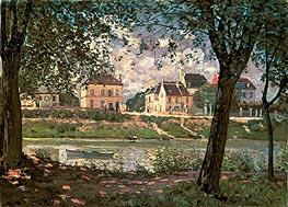 Alfred Sisley | Villeneuve-la-Garenne (Village on the Seine) | Giclée Canvas Print