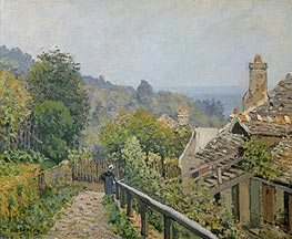 Alfred Sisley | Louveciennes or, The Heights at Marly, 1873 | Giclée Canvas Print
