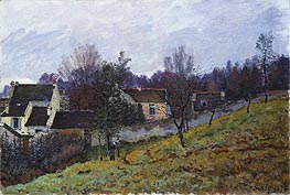 Alfred Sisley | Autumn at Louveciennes, 1873 | Giclée Canvas Print
