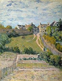 Alfred Sisley | The Rising Path, 1875 | Giclée Canvas Print